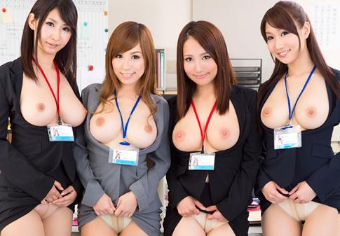 巨乳女子社員といつでも何処でもSEXできる夢の会社!