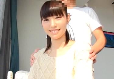 新体操部に所属する透明感抜群な20歳美白女子大生の画像です