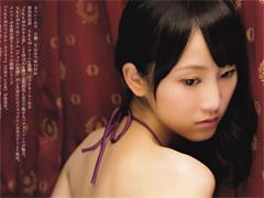 処女のSKE松井玲奈(21歳)が極小下着でケツ丸出し