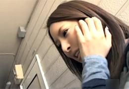 「あぁ…狭い、またイッちゃう」悶えまくる美少女が自宅ジャック! 二宮ナナ