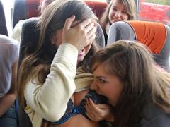 ドイツの女子高生の修学旅行エロ過ぎwww