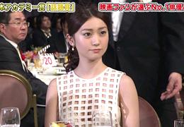日本アカデミー賞を受賞した大島優子の衣装がエロすぎると話題