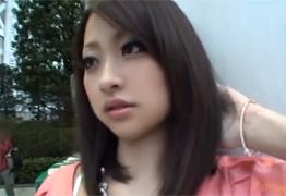 個人撮影 超美人な女子大生に目隠しをしてバイブ責めから生ハメ