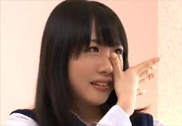 緊張のあまり泣いちゃったウブすぎる18歳美少女JKのエッチ!