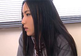 美しい黒髪女子校生を彼氏の父親が中出しレイプ!